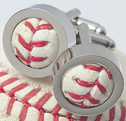 Love these baseball Cufflinks On Etsy