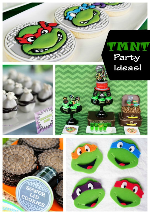 Cowabunga! Teenage Mutant Ninja Turtles Party Ideas! - B ...