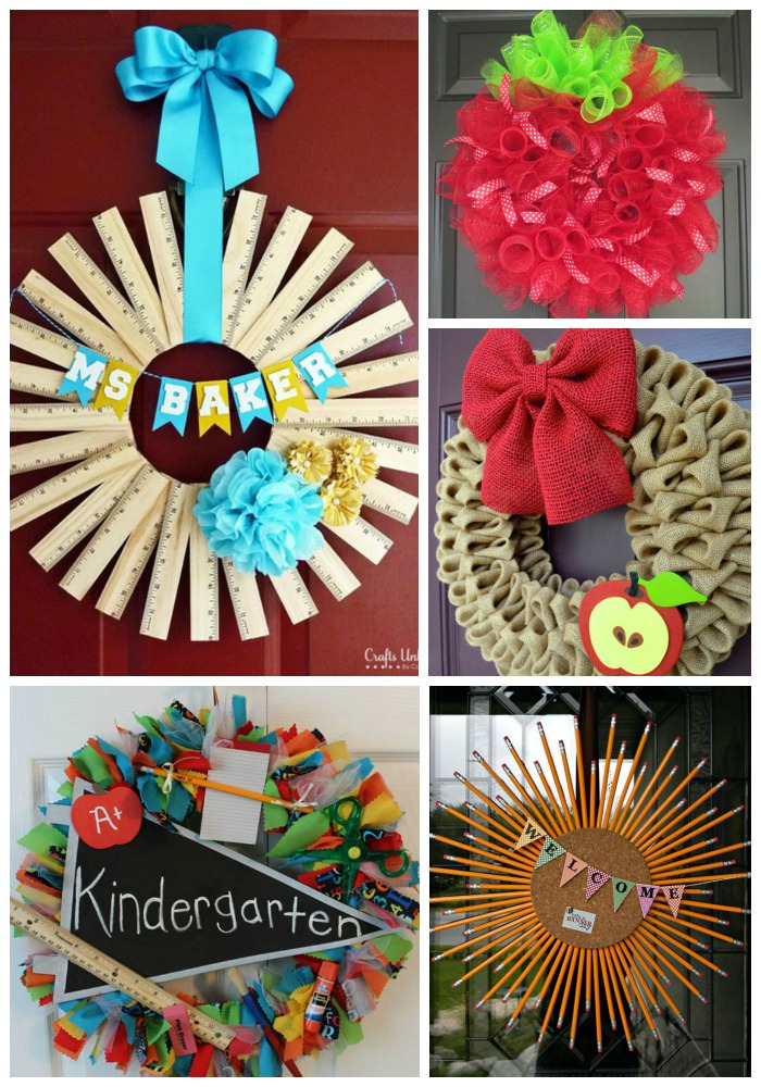 Back To School Wreaths We Love!
