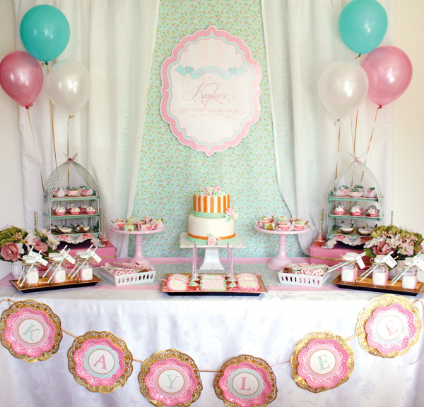 baptism and christening parties