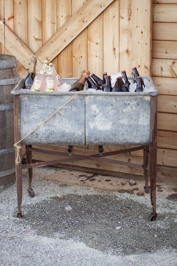 Old Sink Drink Cooler- So fabulous!