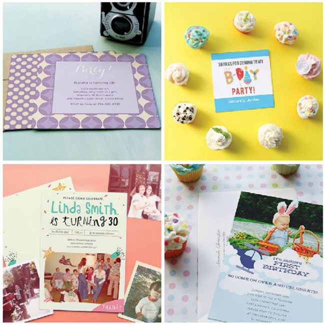 Oubly Birthday Party Invitation ideas