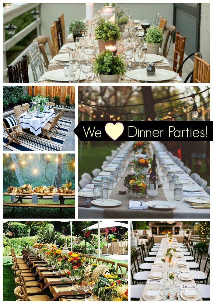 We Heart Dinner Parties!