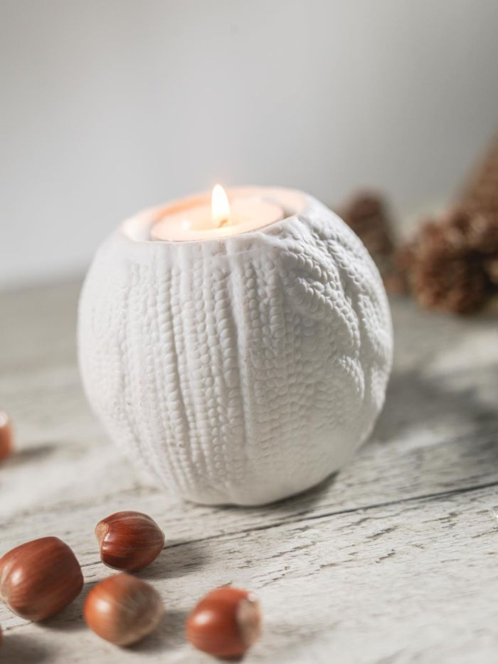 Circle Sweater candle- Love this!