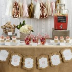 {Super Cute} Rustic Baby Shower