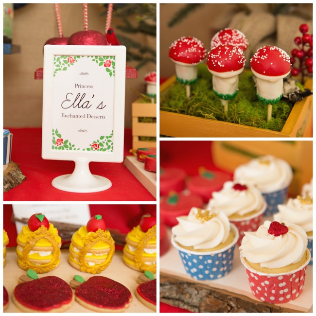 Snow White Themed Desserts Cute