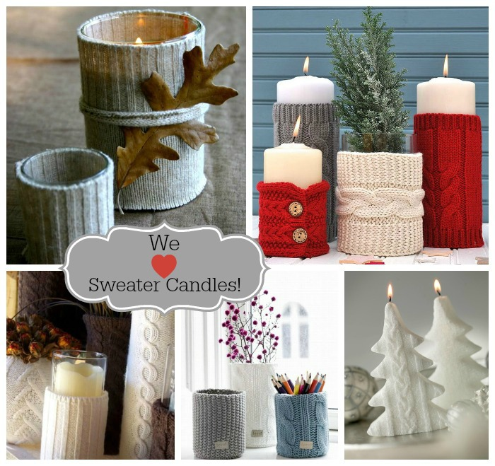 We Love Sweater Candles!