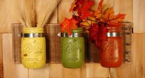 Fall Mason Jars!