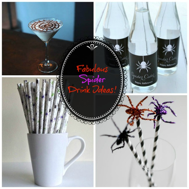 Fabulous Spider Drink Ideas