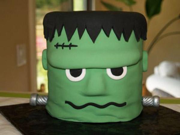 Love this Frankenstein Cake!