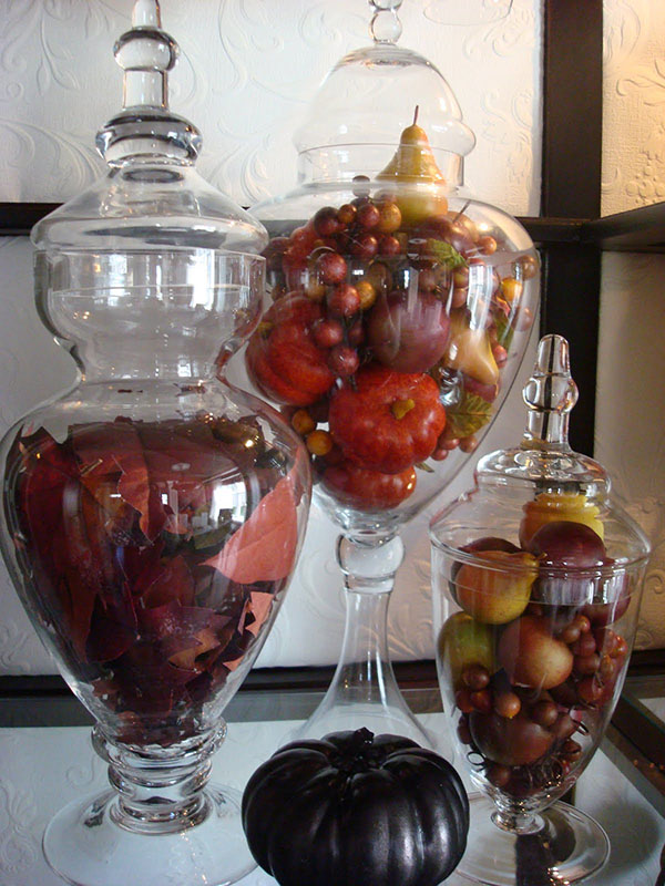 Lovey Fall Filled jars