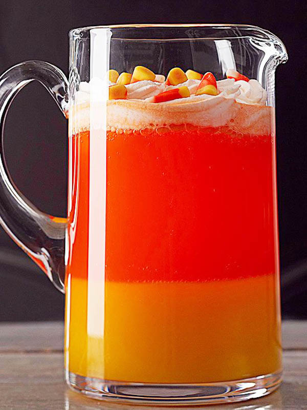Yum! Candy Corn Halloween drink