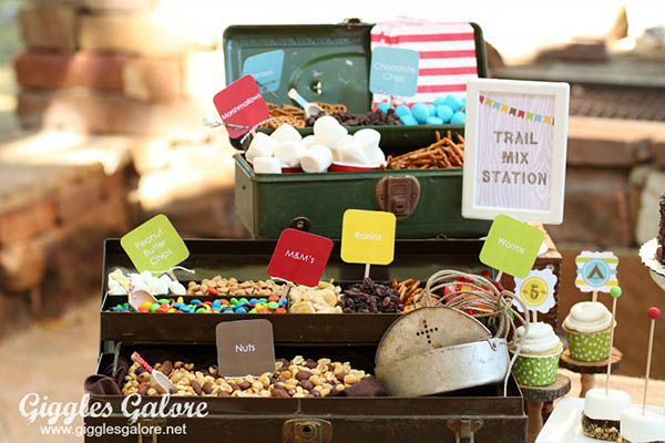 Adorable Trail Mix Bar!