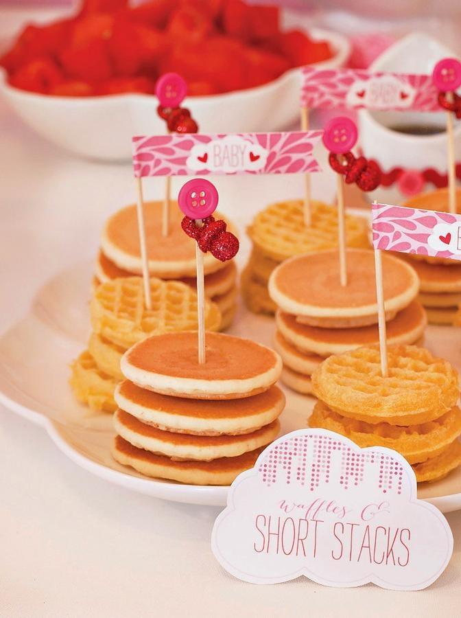 Amazing mini Stacked pancakes
