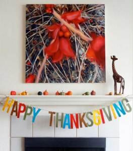 10 DIY & Free Thanksgiving Banners
