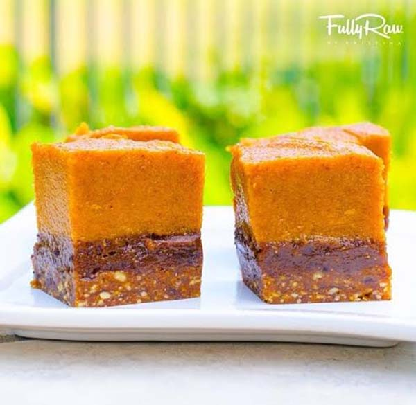 Pumpkin Pie Brownes