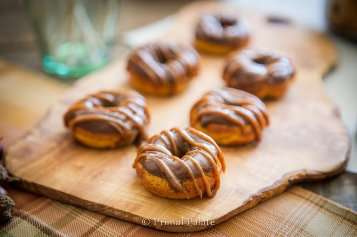 Pumpkin Pie Mini Doughnuts