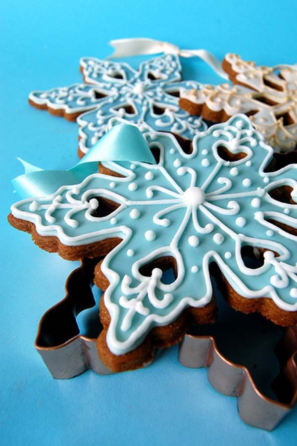 Amazing Snowflake Cookies For Christmas