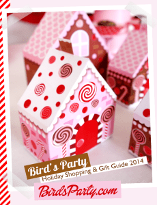 Day 4- Holiday Favorites-Bird's Party Holiday Magazine