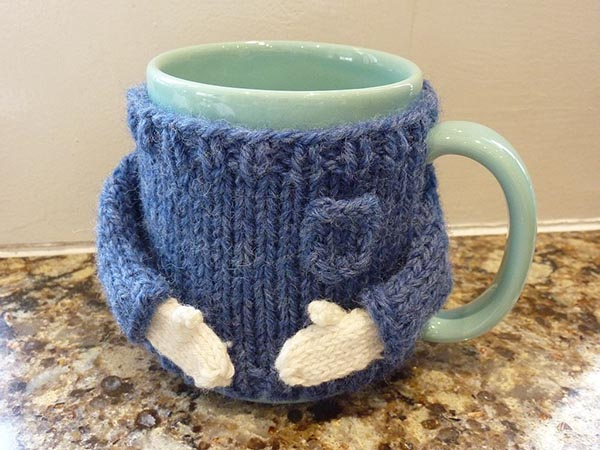 Oh my gosh this sweater mug is too cute!