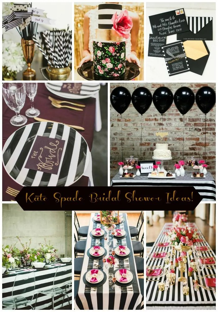 Kate Spade Bridal Shower Ideas Galore! - B. Lovely Events