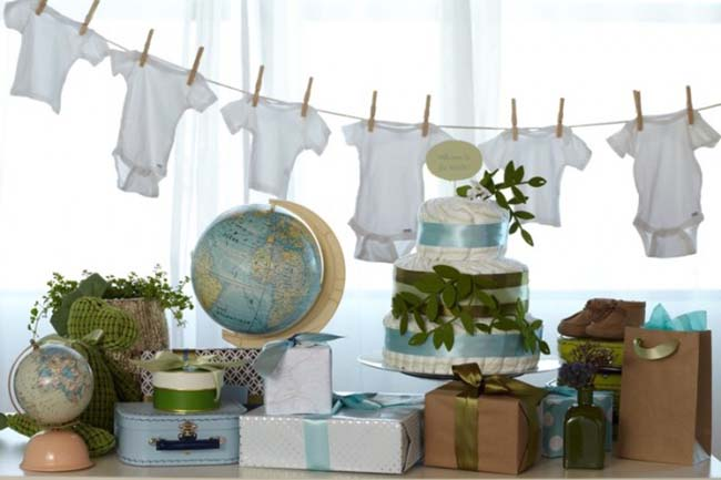 Love this welcome to the world aby shower