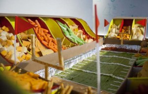Football Snack Stadiums!