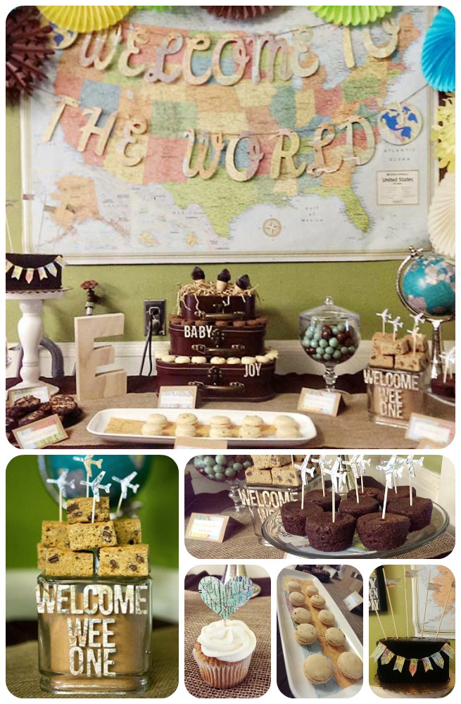 Our Welcome To The World Baby Shower! - B. Lovely Events