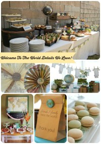 Welcome To The World! {Baby Shower Ideas!}