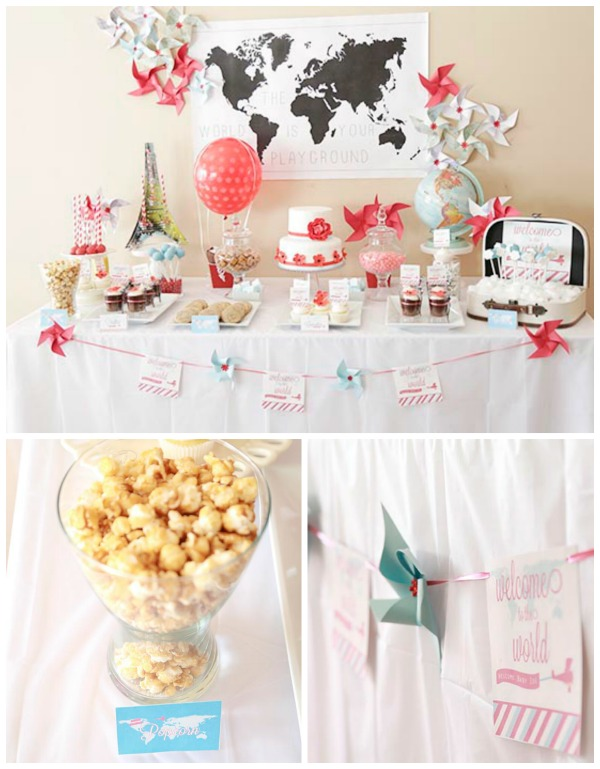 welcome to the world baby shower ideas