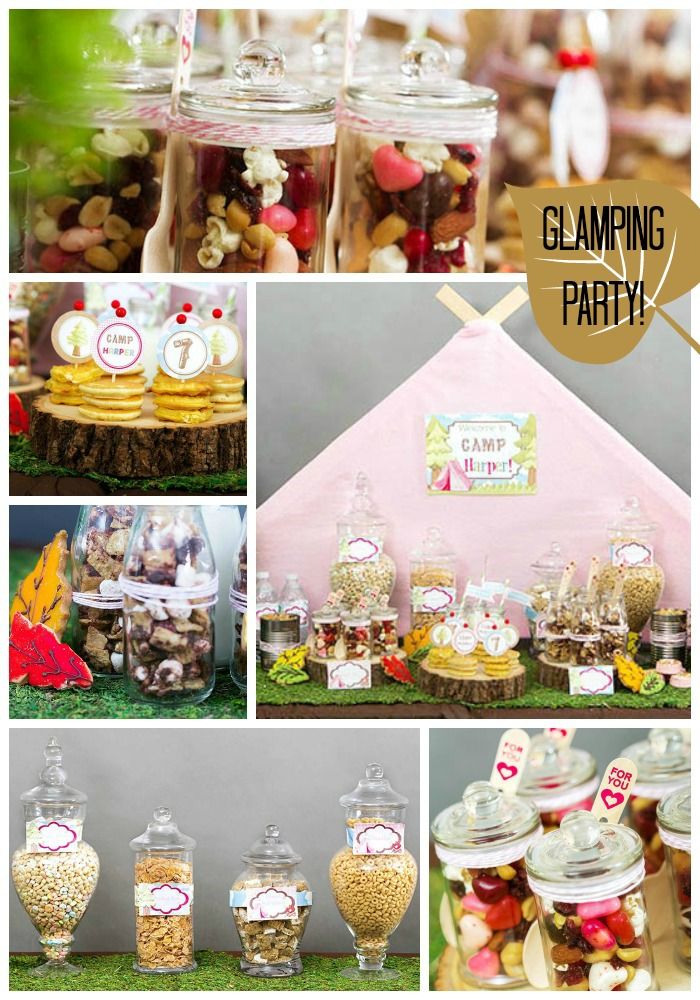 Breakfast Glamping Party! B. Lovely Events