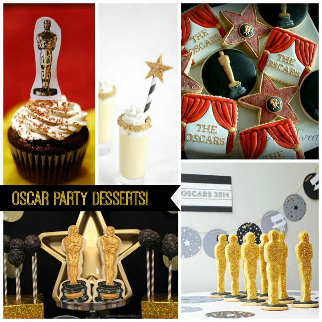 Lovely Oscar Party Desserts!