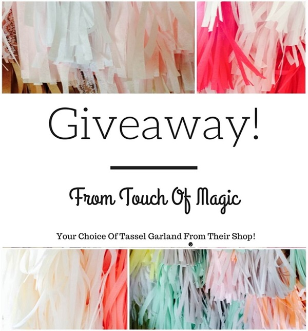 Giveaway From Touch Of Magic!