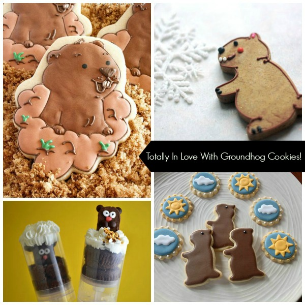 Totally In Love With These Groundhog cookies