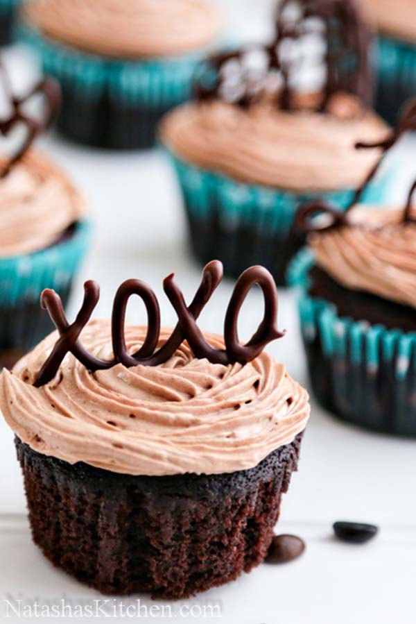 XOXO Cupcakes For Valentines Day