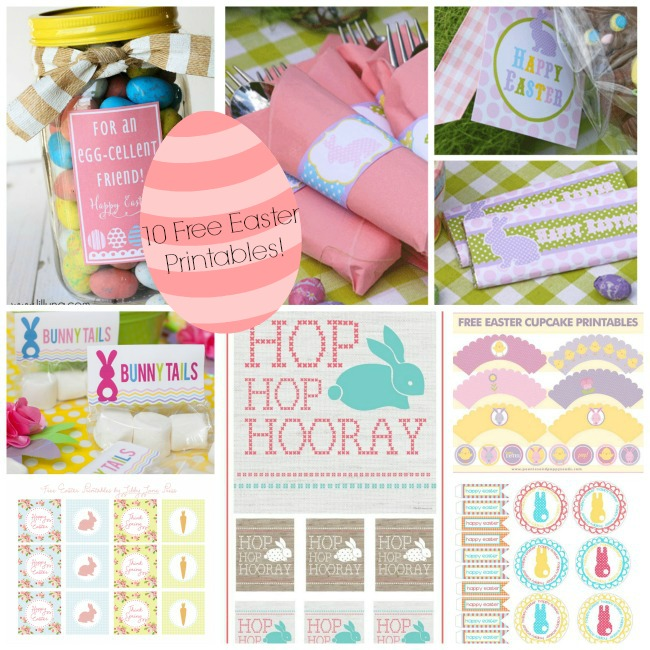 10 Free Easter Printables- B. Lovely Events
