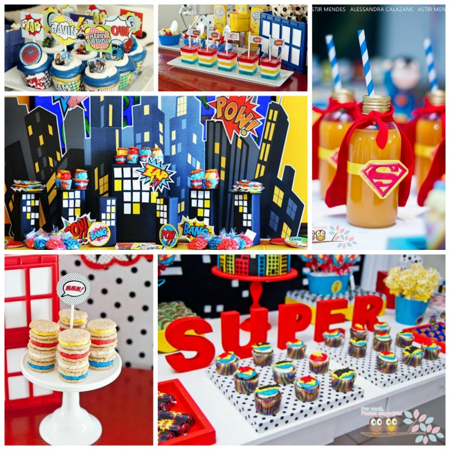 Boys Superhero Party Ideas! - B. Lovely Events