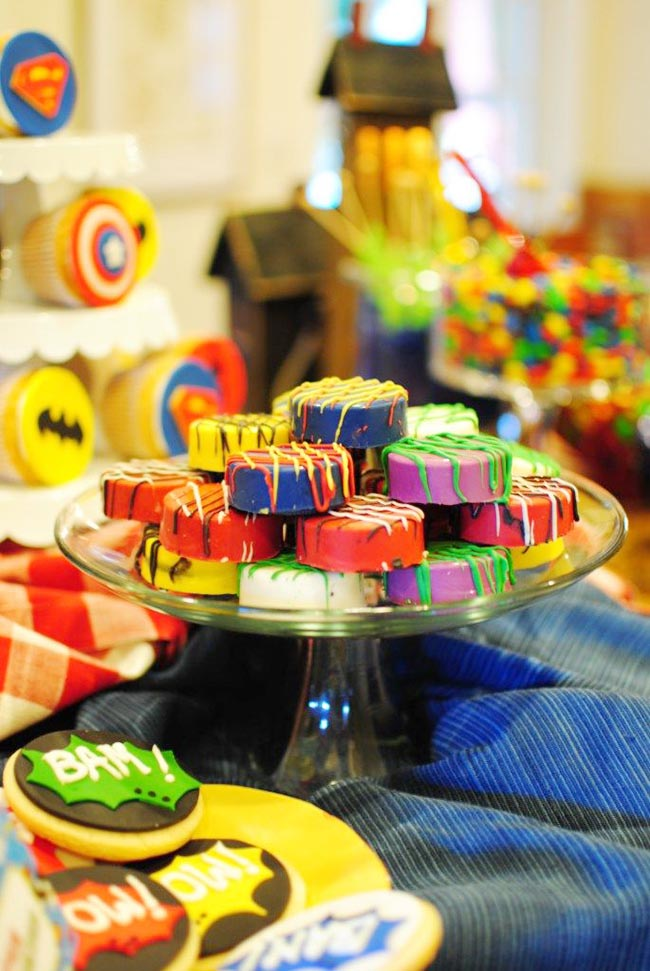 Superhero Oreo Treats!