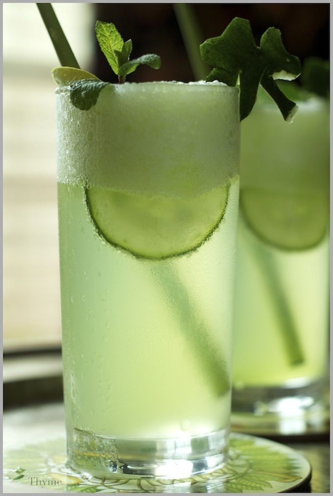 Yummy Mojito for St. Patrick's Day