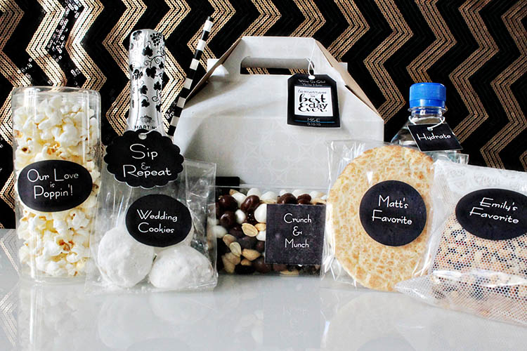 Favorite things Wedding Welcome Bag -B. Lovely Events