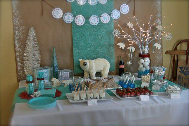 Love the idea of a polar bear party!