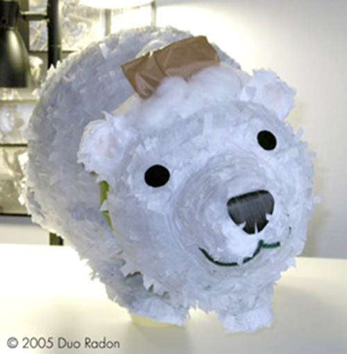 Polar bear Pinata!