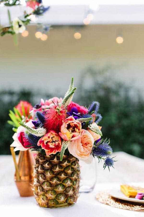 Awesome Pineapple centerpiece