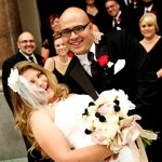 Real Wedding: Becky And Andrew {Damask At It's Best}