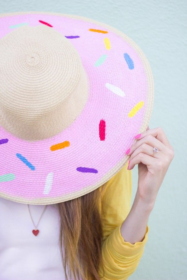 Fun Donut Hat for National Donut day