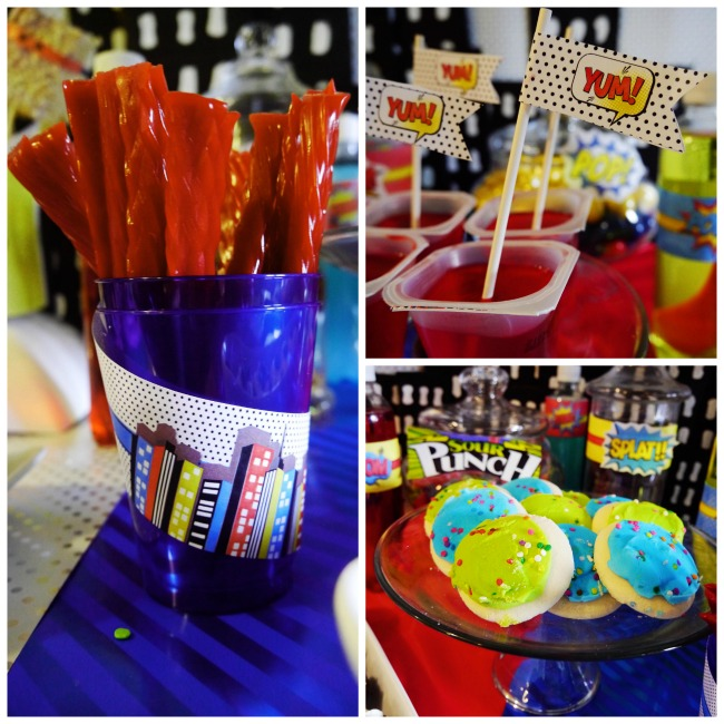 Fun Superhero Birthday Party Ideas- B. Lovely Events