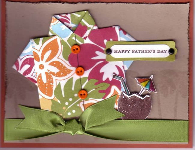 tropical Father's Day Card- So cute!