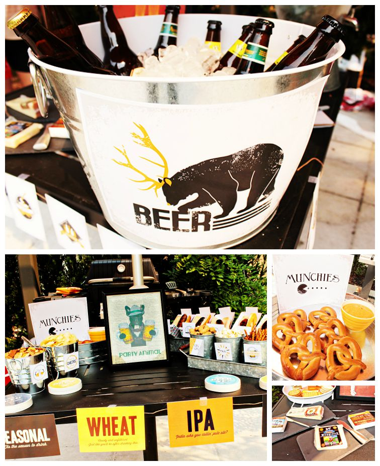 30th Birthday Beer Extravaganza - B. Lovely Events