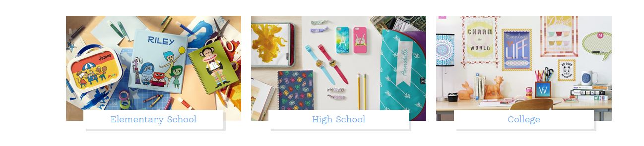 Too Cute Zazzle Back To School Supplies