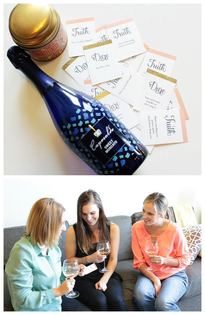 Truth Or Dare Girls Night In Wine Night Game
